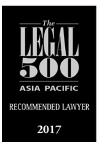 Legal 500 Asia Pacific